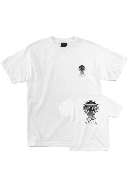 Creature T-Shirts Skeleton Key UFO white Vorderansicht 0399393