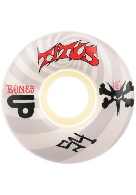 Bones Wheels 100's TITUS Collabo Spiral V1