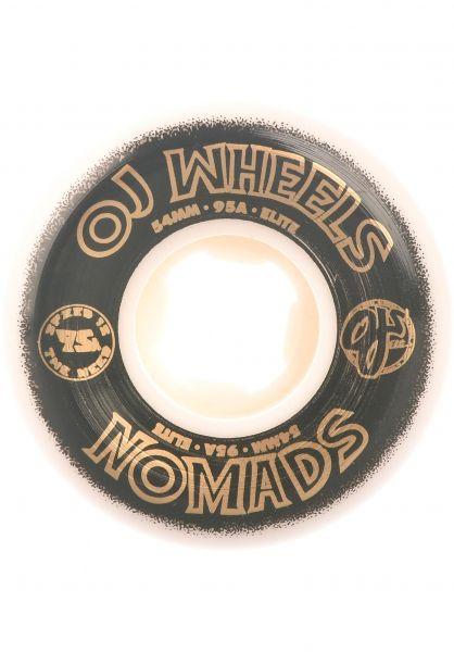 OJ Wheels Rollen Elite Nomads 95A white vorderansicht 0134842