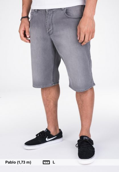 Reell Jeansshorts Rafter Shorts 2 greydenim Vorderansicht