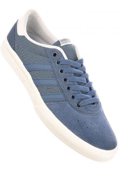 low priced bd9f5 4d28b adidas-skateboarding Alle Schuhe Lucas Premiere ADV ink-ink-white  Vorderansicht