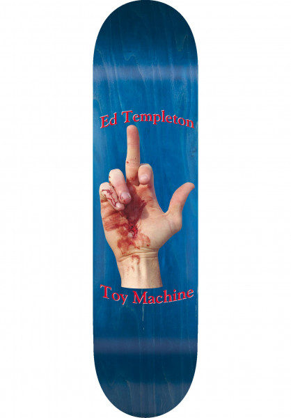 Toy-Machine Skateboard Decks Templeton Flip natural Vorderansicht