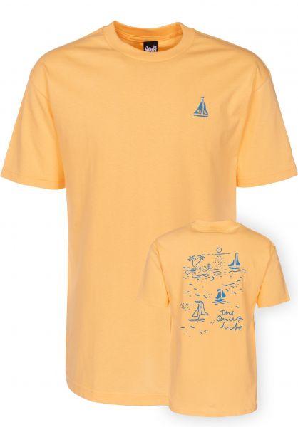 The Quiet Life T-Shirts Sail squash Vorderansicht