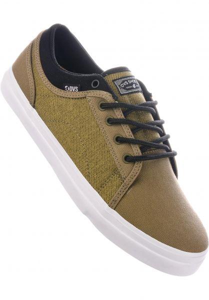 DVS Alle Schuhe Aversa + olive-black Vorderansicht