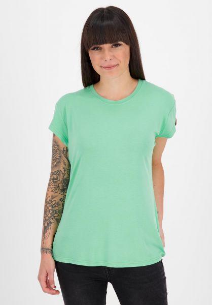 alife and kickin T-Shirts Mimmy A emerald 121 vorderansicht 0324073