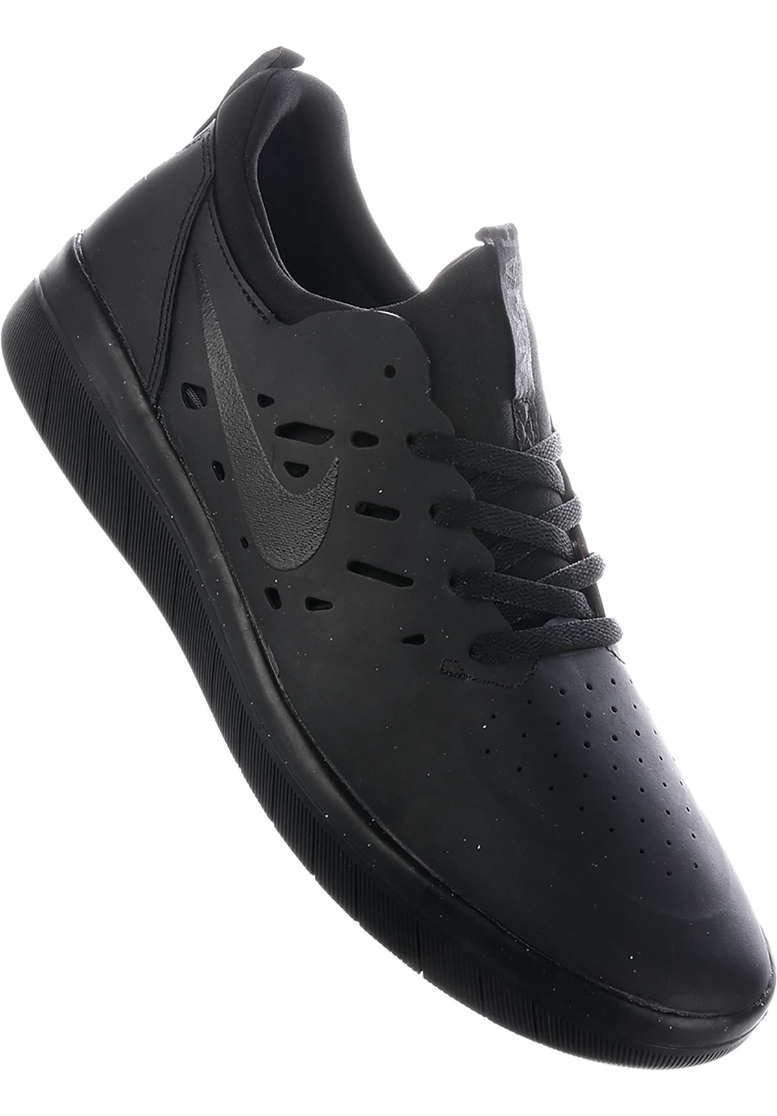 a491f3149a079a Nyjah Free Skateboarding Nike SB All Shoes in black-black-black for Men