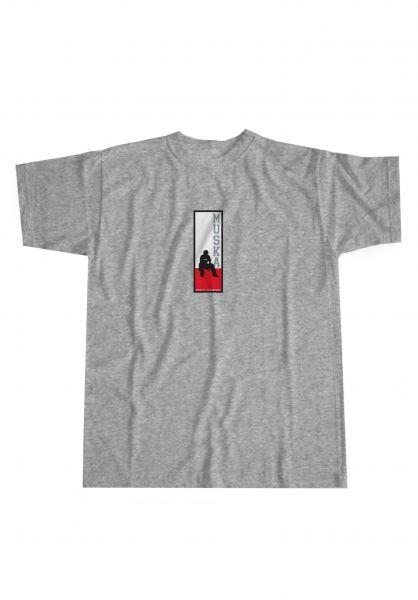 Shortys T-Shirts Muska Board greymottled vorderansicht 0323886