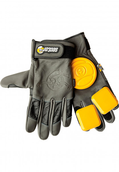 Sector-9 Handschoner Surgeon Slide Glove charcoal-grey-black Vorderansicht