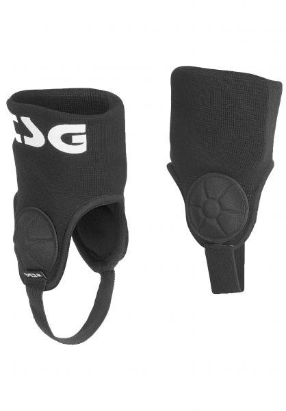 TSG Knöchelschoner Single Ankle Guard Cam II black vorderansicht 0250000