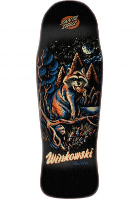 Santa-Cruz Skateboard Decks Winkowski Trash Panda Pre Issue