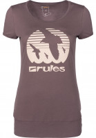 Rules T-Shirts Doves Girls mauve Vorderansicht