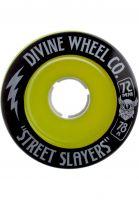 Divine Rollen Street Slayers III 78A green Vorderansicht