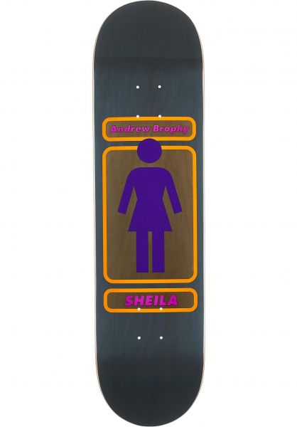 Girl Skateboard Decks Brophy 93 Til Sheila brown vorderansicht 0262419