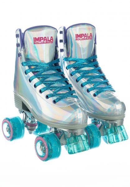 Impala Alle Schuhe Quad Rollschuhe holographic vorderansicht 0292000