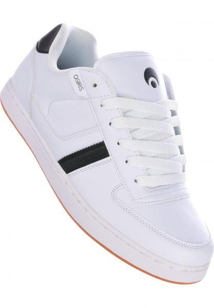 Osiris Alle Schuhe Relic white-black-gum vorderansicht 0602392