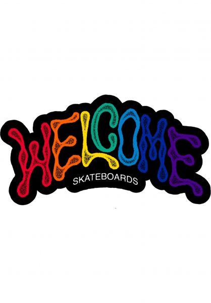 Welcome Verschiedenes Droop Die-Cut rainbow vorderansicht 0170414