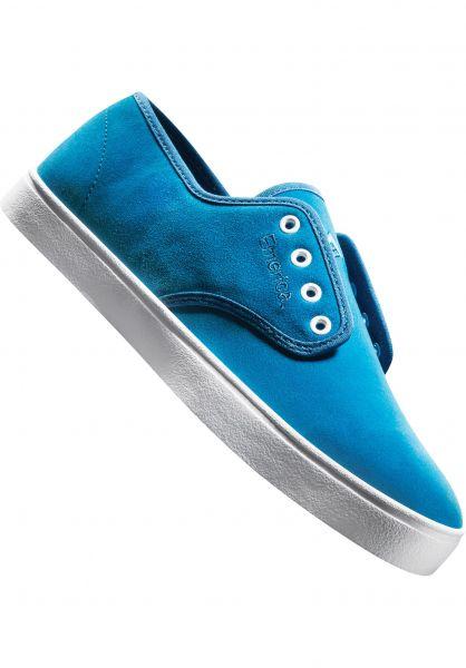 Emerica Alle Schuhe Laced blue-white Vorderansicht