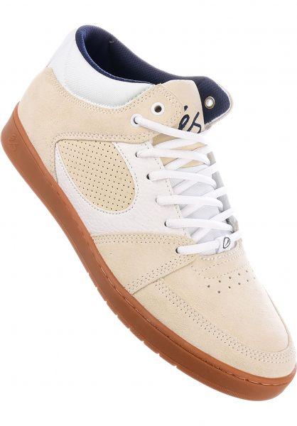 ES Alle Schuhe Accel Slim Mid white-gum Vorderansicht
