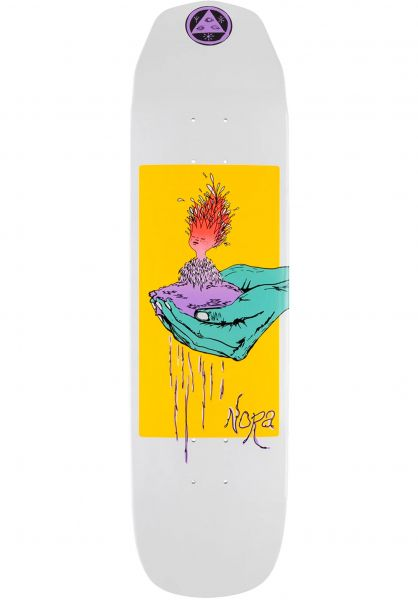 Welcome Skateboard Decks Soil - Nora Vasconcellos Wicked Princess white-dip vorderansicht 0266085