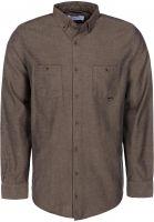 Reell Hemden langarm Herringbone sand vorderansicht 0411836