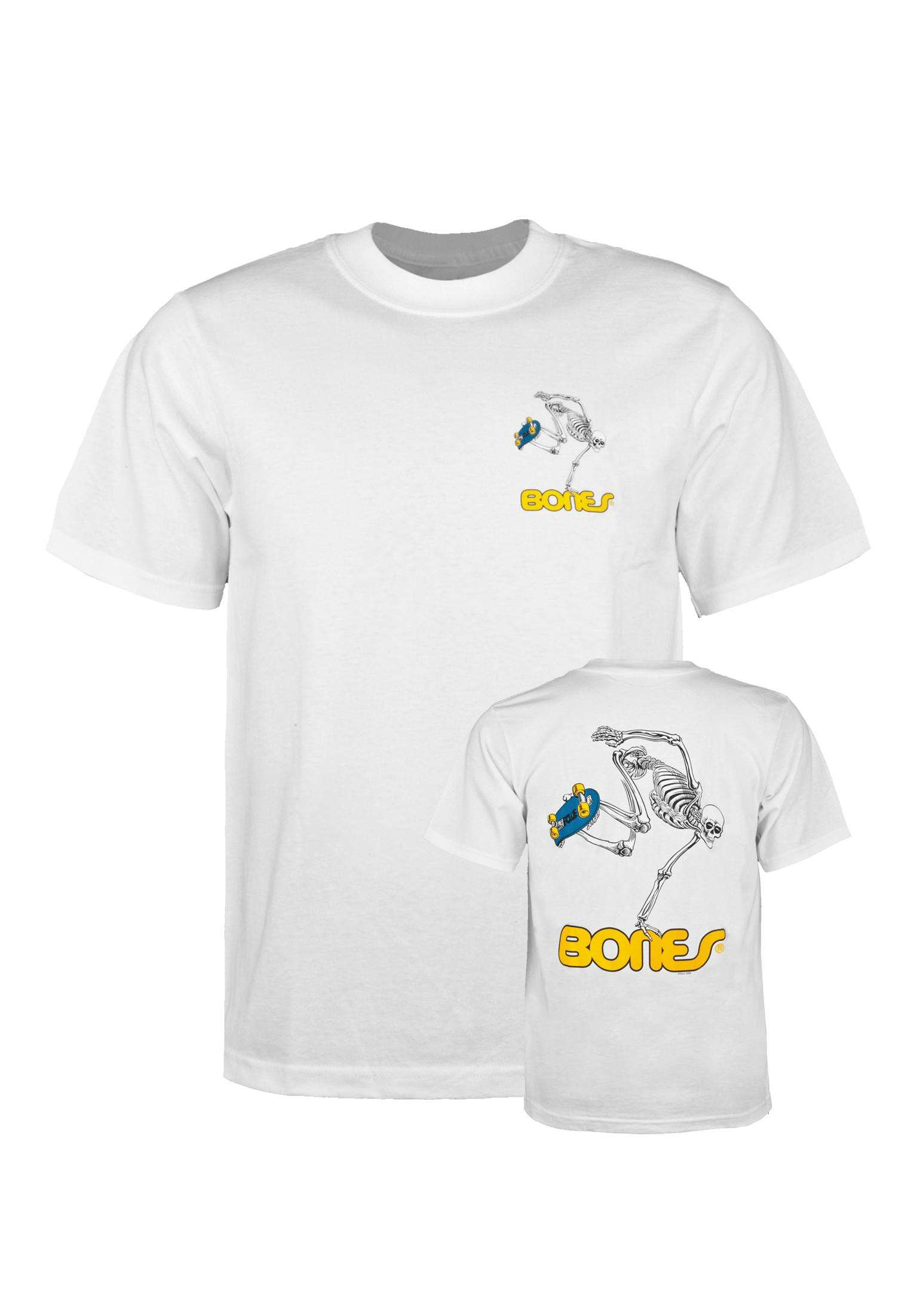 Skateboard Skeleton Kids Powell-Peralta Camisetas in white für Niños ... 78236746d3035