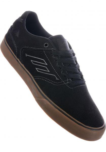 Emerica Alle Schuhe Reynolds Low Vulc darkgrey-black-gum vorderansicht 0604638