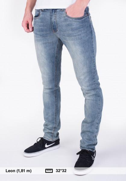 TITUS Jeans Taper Fit blue-vintage Vorderansicht