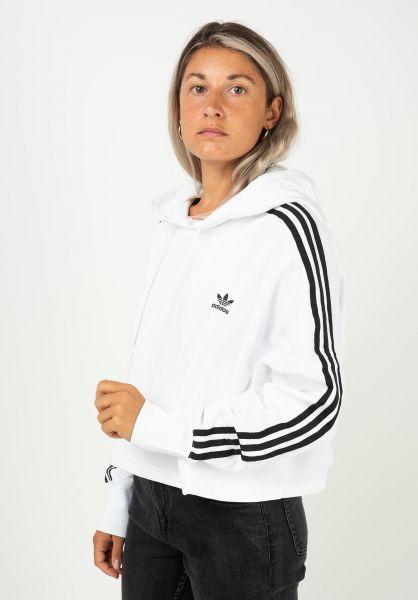 adidas Hoodies Cropped white vorderansicht 0445926