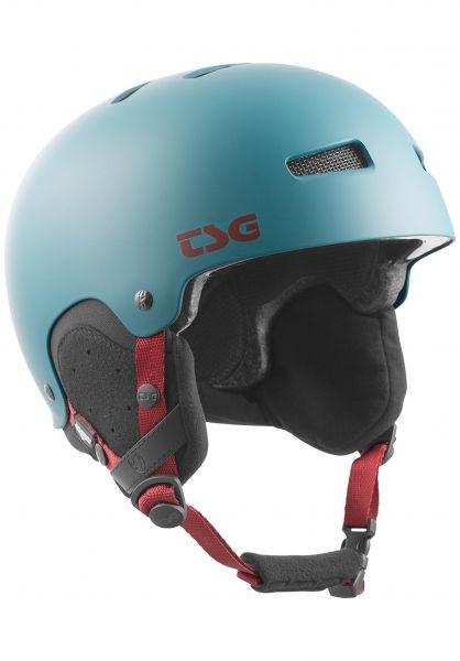 TSG Snowboardhelme Gravity Solid Color satin deep cauma vorderansicht 0750089