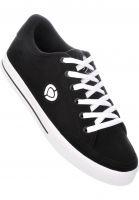 C1RCA Alle Schuhe Lopez 50 black-white-logo Vorderansicht