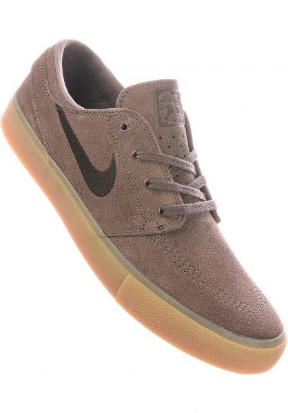 Nike SB Alle Schuhe Zoom Stefan Janoski RM ironstone-velvetbrown vorderansicht 0604615