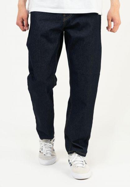 Carhartt WIP Jeans Newel Pant (Cropped) bluerinsed vorderansicht 0227155
