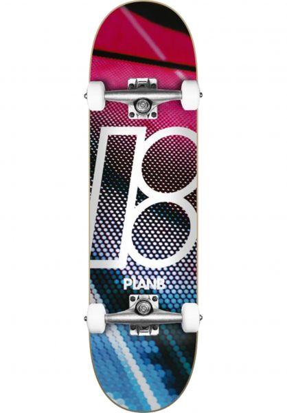 Plan-B Skateboard komplett Team Multiverse multicolored vorderansicht 0162443