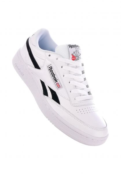 Reebok Alle Schuhe Revenge Plus MU white-black vorderansicht 0612484