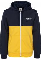 Element Zip-Hoodies Primary eclipsenavy Vorderansicht