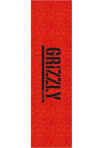 Grizzly Griptape Glitter red vorderansicht 0142147