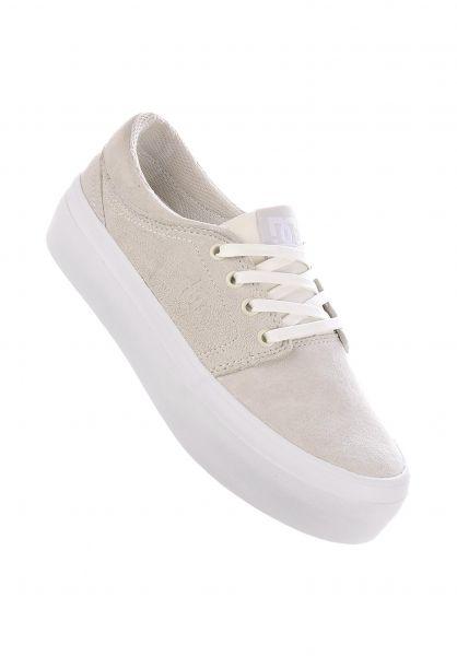 DC Shoes Alle Schuhe Trase Platform LE offwhite vorderansicht 0612466