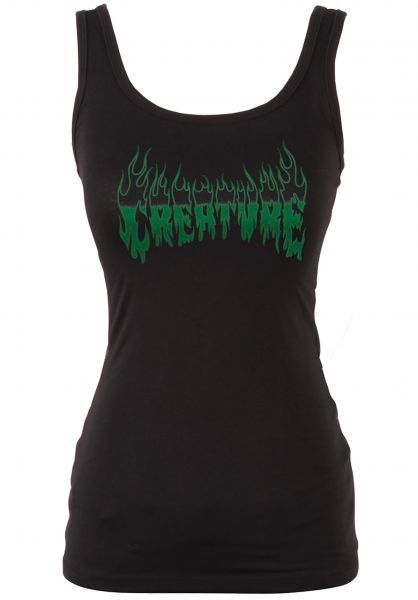 Creature Tank-Tops Firestarter Tank Girls black Vorderansicht