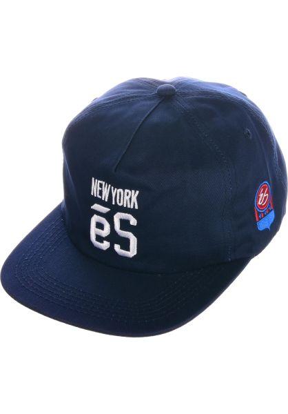 ES Caps New York navy vorderansicht 0566330