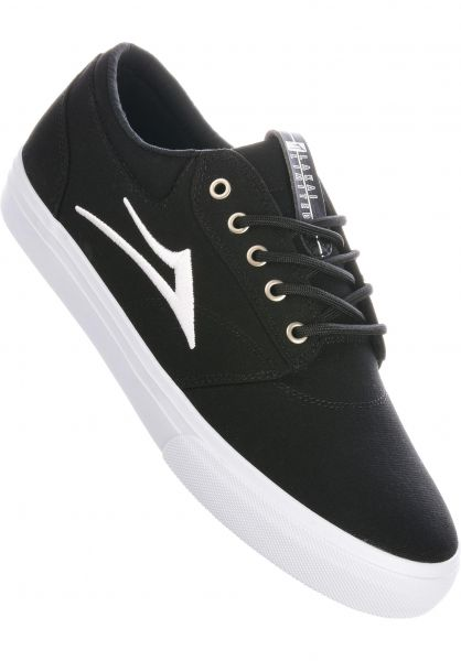 Lakai Alle Schuhe Griffin Canvas black vorderansicht 0604772
