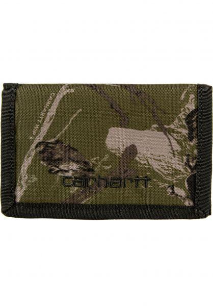 Carhartt WIP Portemonnaie Payton Wallet camotree-green-black vorderansicht 0781005