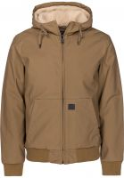 Vintage Industries Winterjacken Datton Jacket tan vorderansicht 0122260
