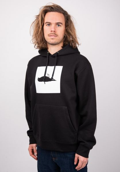 Atticus Hoodies Box black vorderansicht 0445268
