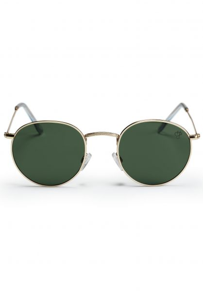 CHPO Sonnenbrillen Liam gold-green vorderansicht 0590625