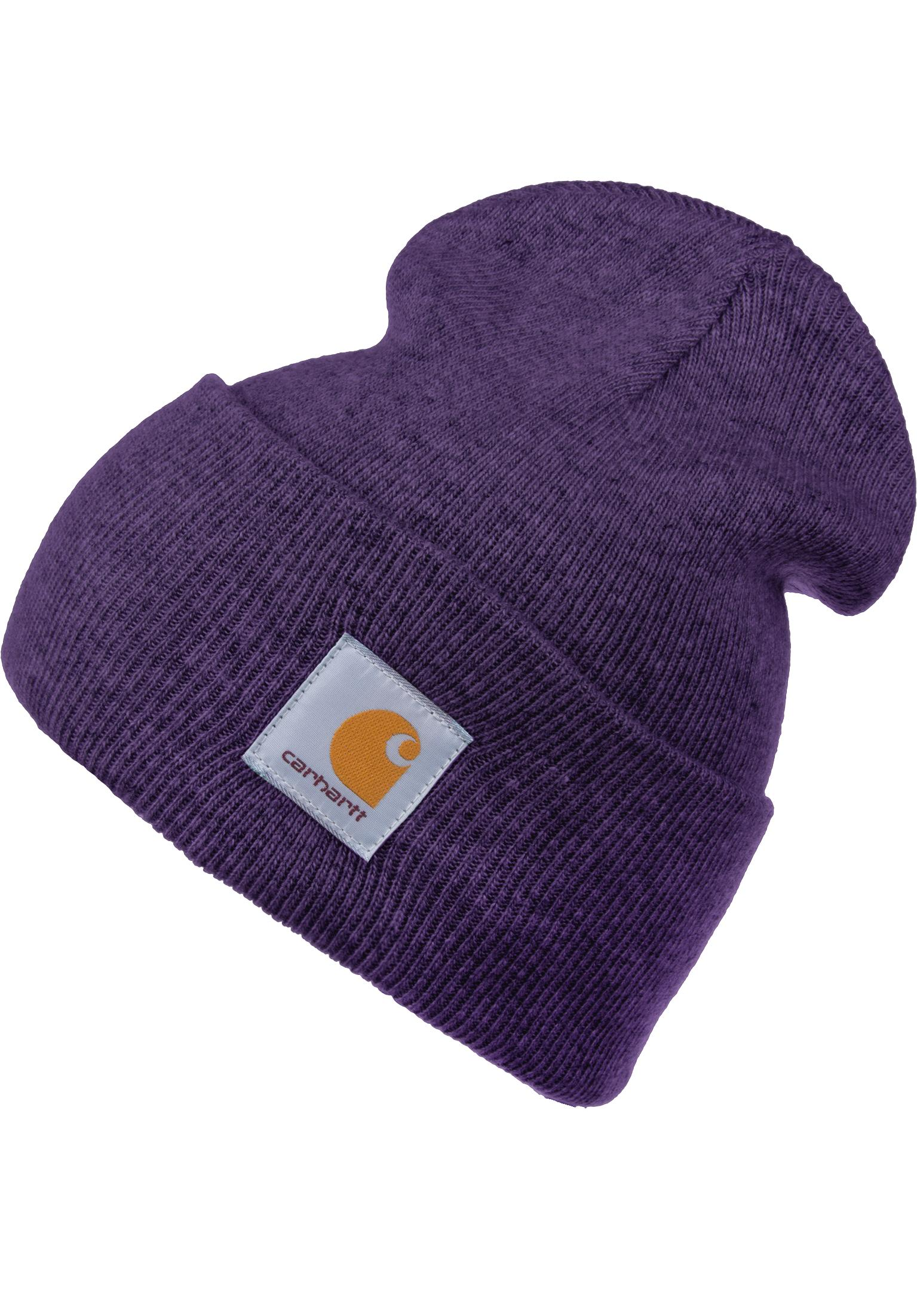 472e58b1561 Acrylic Watch Hat Carhartt WIP Beanies in frostedviola-heather for Men