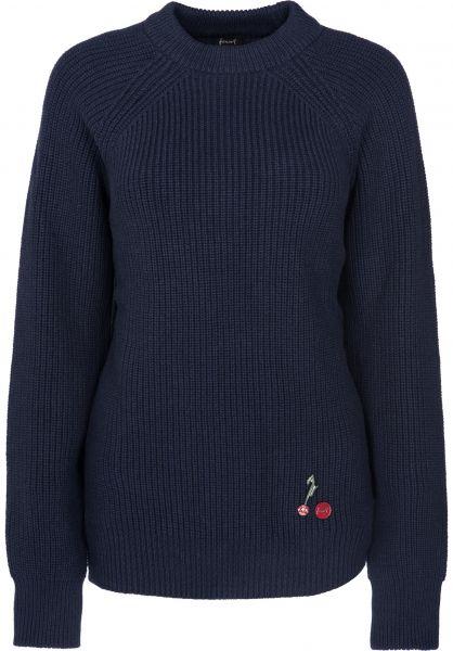 Forvert Sweatshirts und Pullover Inger navy Vorderansicht