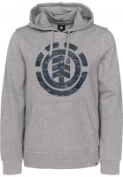 Element Hoodies Logo Fill greyheather Vorderansicht