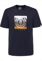 Element T-Shirts Reflections eclipsenavy Vorderansicht