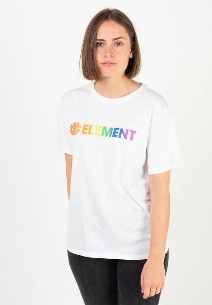 Element T-Shirts Element Logo multi vorderansicht 0395826