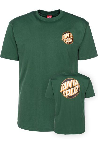 Santa-Cruz T-Shirts Fish Eye Dot forest vorderansicht 0398901